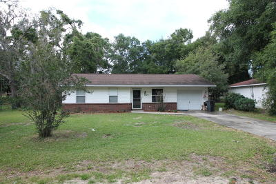 Belleview Single Family Home For Sale: 5275 SE 103rd Street