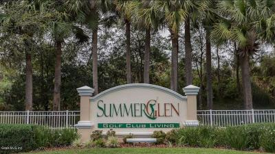 Summerglen Single Family Home For Sale: 15679 SW 16th Ave Rd