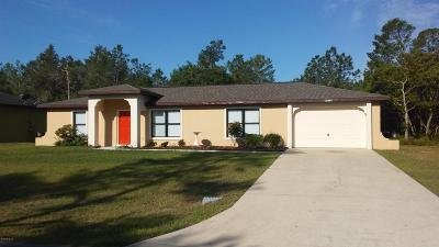 Marion Oaks North Single Family Home For Sale: 13138 SW 31 Ave Rd Road