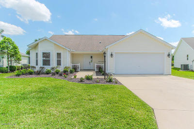 The Villages-Marion Cty Single Family Home For Sale: 1212 Camero Drive