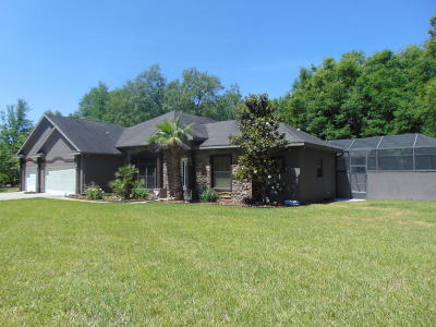 Dunnellon Single Family Home For Sale: 9908 SW 202nd Circle