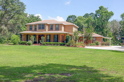 Reddick Single Family Home For Sale: 14495 NW Hwy 225
