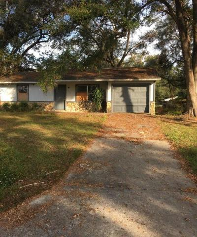 Ocala Single Family Home For Sale: 3725 SE 68th Street