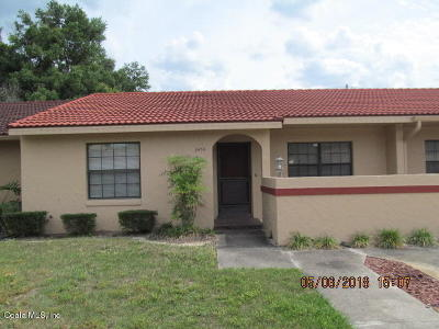 Ocala Condo/Townhouse For Sale: 3454 SW 19th Place Place