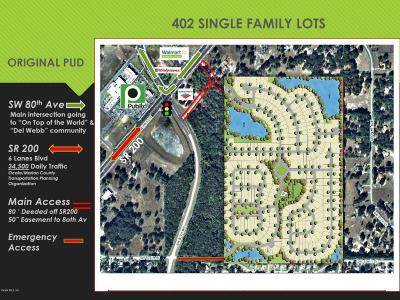 Ocala Residential Lots & Land For Sale: 7850 SW Highway 200