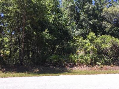 Citrus County Residential Lots & Land For Sale: 8680 N Cinder Way