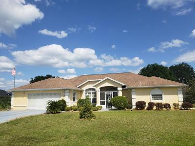 Ocala Single Family Home For Sale: 69 Hickory Loop