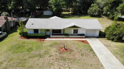 Dunnellon Single Family Home For Sale: 21040 SW Marine Boulevard