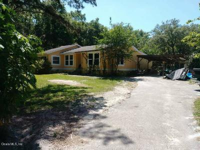Dunnellon Single Family Home For Sale: 10648 SW 156th Place