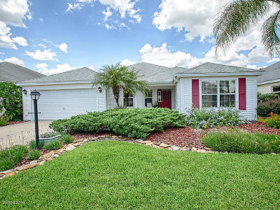 The Villages Single Family Home For Sale: 1697 Sanderling Street