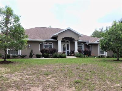 Dunnellon Single Family Home For Sale: 11655 N Basin Cove Point