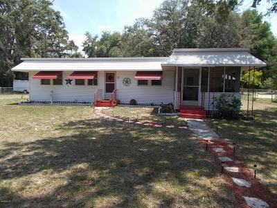 Silver Springs Single Family Home For Sale: 85 NE 167th Avenue