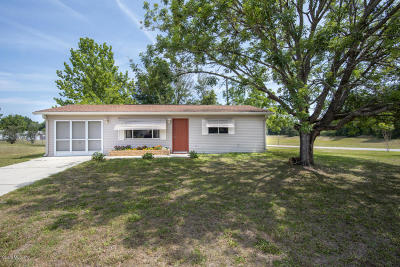 Ocala Single Family Home For Sale: 6201 SW 107th Street