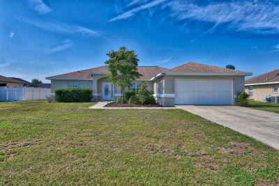 Belleview Single Family Home For Sale: 6820 SE 103rd Street