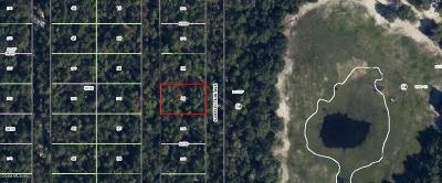 Citrus County Residential Lots & Land For Sale: 3875 S Killdeer Avenue