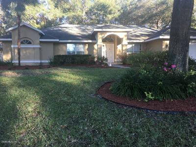 Ocala Single Family Home For Sale: 3635 SE 56th Terrace