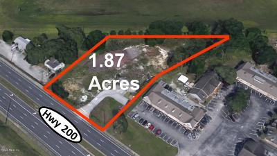 Ocala Residential Lots & Land For Sale: 7699 SW Hwy 200