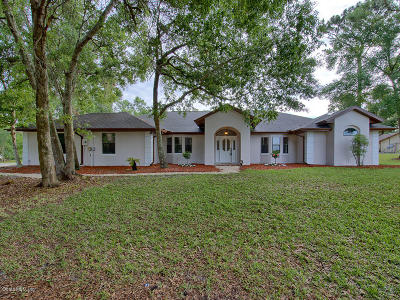 Summerfield Single Family Home For Sale: 14629 SE 96 Court