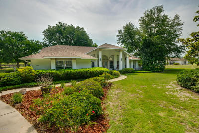 Ocala Single Family Home For Sale: 11245 NW 17th Court Road