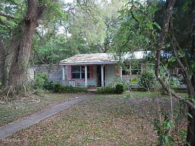 Williston FL Single Family Home For Sale: $49,000