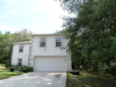 Citrus County Single Family Home For Sale: 2421 W Summer Place