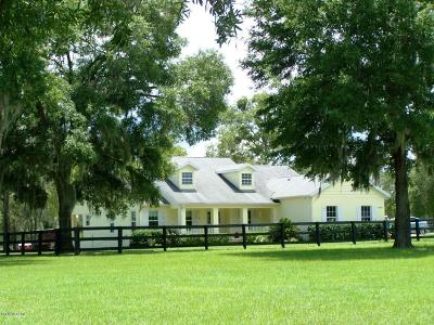 Dunnellon Farm For Sale: 19950 SW 5th Place