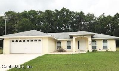 Marion County Single Family Home For Sale: 15410 N Us Highway 441