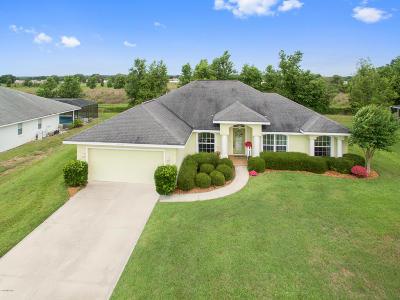 Ocala Single Family Home For Sale: 8296 SW 56 Terrace