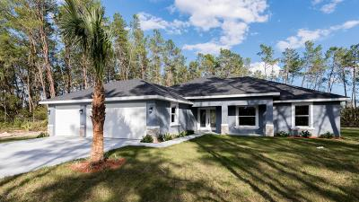 Ocala Single Family Home For Sale: 3920 SW 108th Place