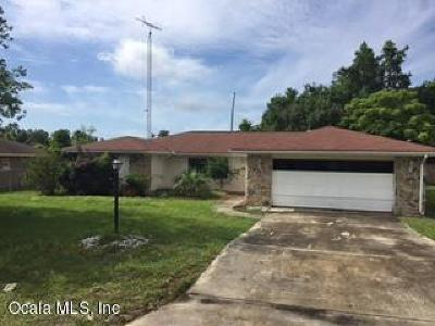 Marion Oaks North, Marion Oaks Rnc, Marion Oaks South Single Family Home For Sale: 3950 SW 139th St Road