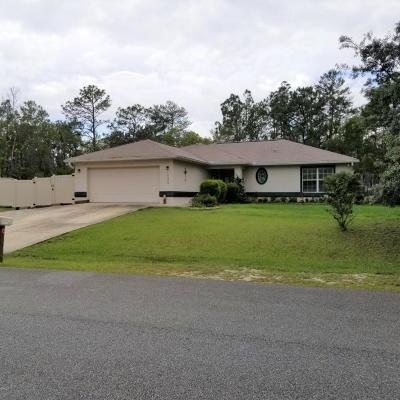 Marion Oaks North, Marion Oaks Rnc, Marion Oaks South Single Family Home For Sale: 15530 SW 49th Avenue Road