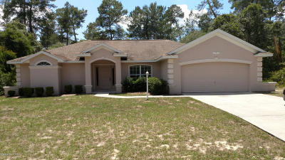 Marion Oaks North, Marion Oaks Rnc, Marion Oaks South Single Family Home For Sale: 15912 SW 23rd Court Road