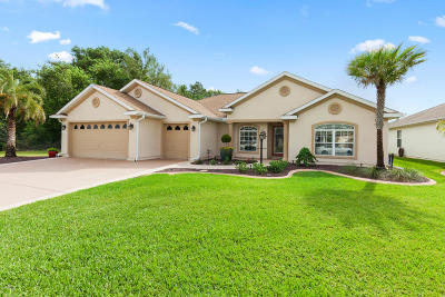 Spruce Creek, Spruce Creek Gc, Spruce Creek So, Stonecrest, Spruce Creek Pr, On Top Of The World, The Villages-Marion Cty, Ocala Palms, Oak Run, Oak Run Eagles Point, Summerglen, laurel ridge, Cherry Wood, pine run, Ocala Preserve, Palm Cay Single Family Home For Sale: 12271 SE 176th Loop