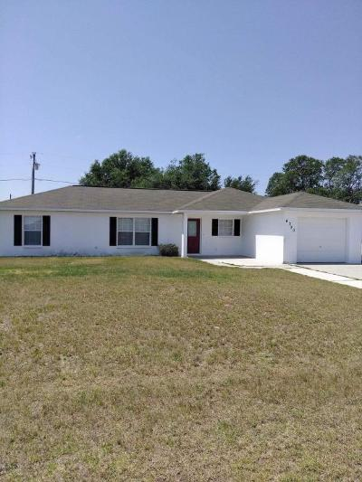 Marion County Rental For Rent: 4700 SW 129th Place