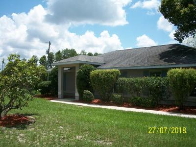 Dunnellon Single Family Home For Sale: 13050 SE 128 Lane