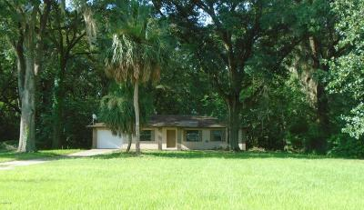Ocala Single Family Home For Sale: 1206 NE 31st Street