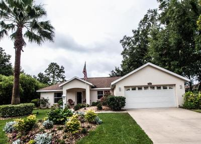 Lake County, Marion County Single Family Home For Sale: 9600 SW 53rd Circle
