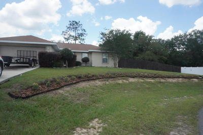 Belleview Single Family Home For Sale: 12178 SE 100th Court