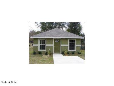 Ocala Single Family Home For Sale: 1954 NW 3rd St Street
