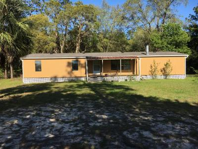 Dunnellon Mobile/Manufactured For Sale: 5081 SW 183rd Terrace