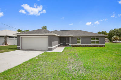 Ocala Single Family Home For Sale: 1 Pecan Drive Terrace
