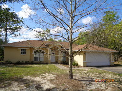 Williston FL Single Family Home For Sale: $156,000