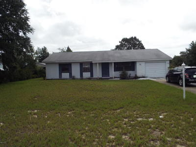 Ocala FL Single Family Home For Sale: $100,000