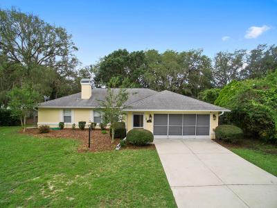 Ocala Single Family Home For Sale: 110 Hickory Road