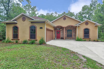 Dunnellon Single Family Home For Sale: 21775 SW 88th Lane Road