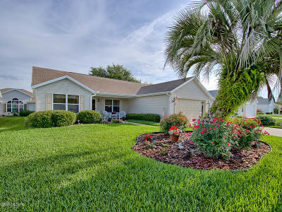 The Villages Single Family Home For Sale: 3025 Burbank Lane
