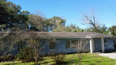 Belleview Single Family Home For Sale: 9650 SE Hwy 441