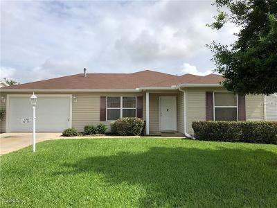 The Villages Single Family Home For Sale: 3295 Oakdale Place