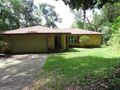 Dunnellon Single Family Home For Sale: 19620 Fox Trail