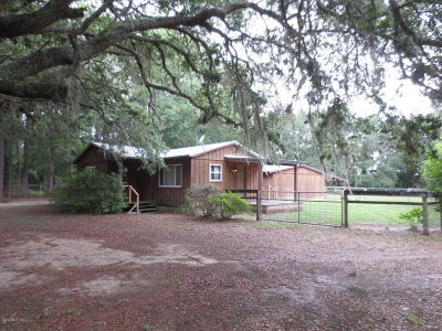Ocklawaha Single Family Home For Sale: 16785 SE 95th Street Road